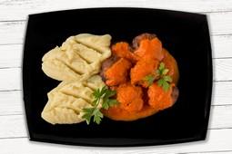 Parjoale moldovenesti cu sos
